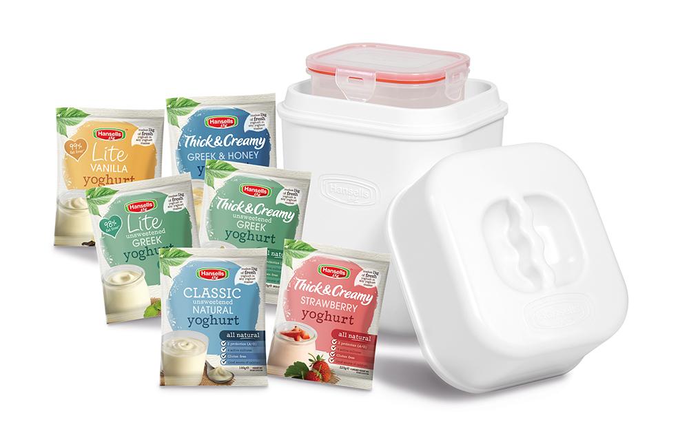 Hansells Yogurt Starter Kit