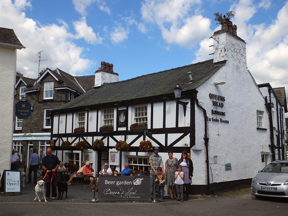 Queens Head Inn, Hawkshead
