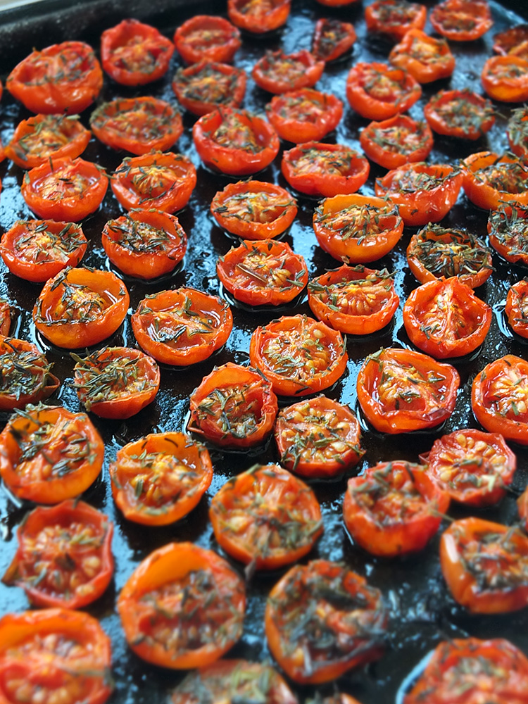 Roasted Piccolo Tomatoes