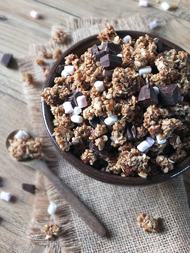 S'mores Granola Clusters