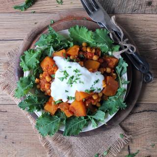 Butternut Squash & Chickpea Curry