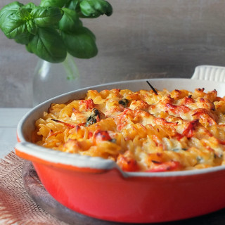Creamy Chicken Pasta Bake