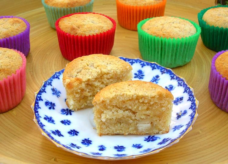 Lemon Marzipan Cakes by Tin & Thyme