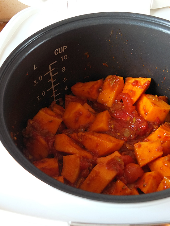 Butternut Squash & Chickpea Curry - A Redmond Multicooker Recipe