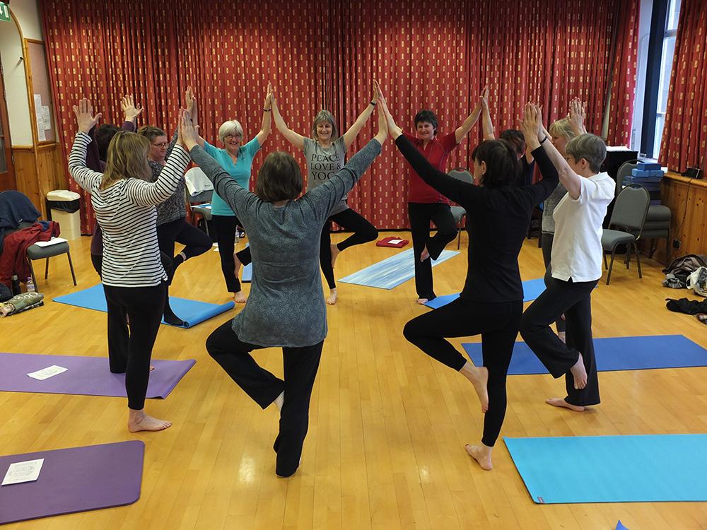 Shetland Yoga - Hazel Thomson and Niki Thomson