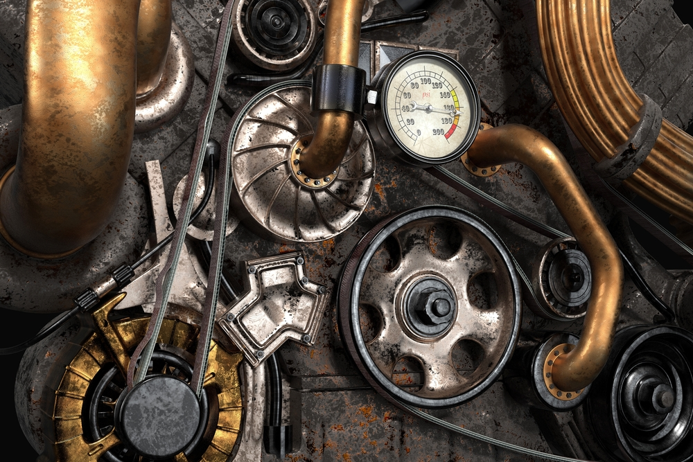 Steampunk Engine by Lifetime Stock