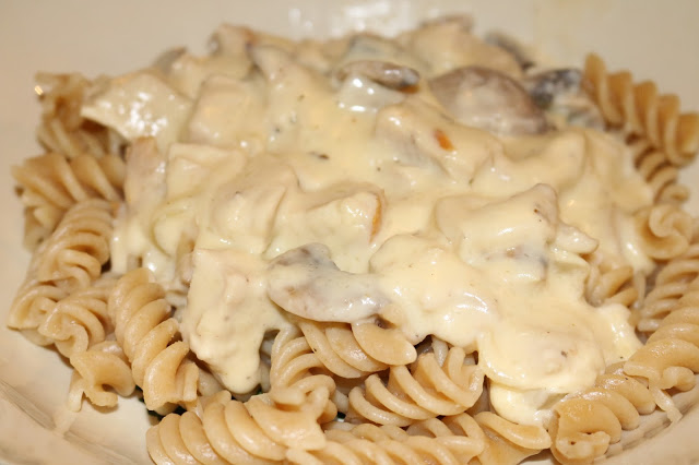 Turkey and Mushroom Creamy Pasta by Jibber Jabber UK