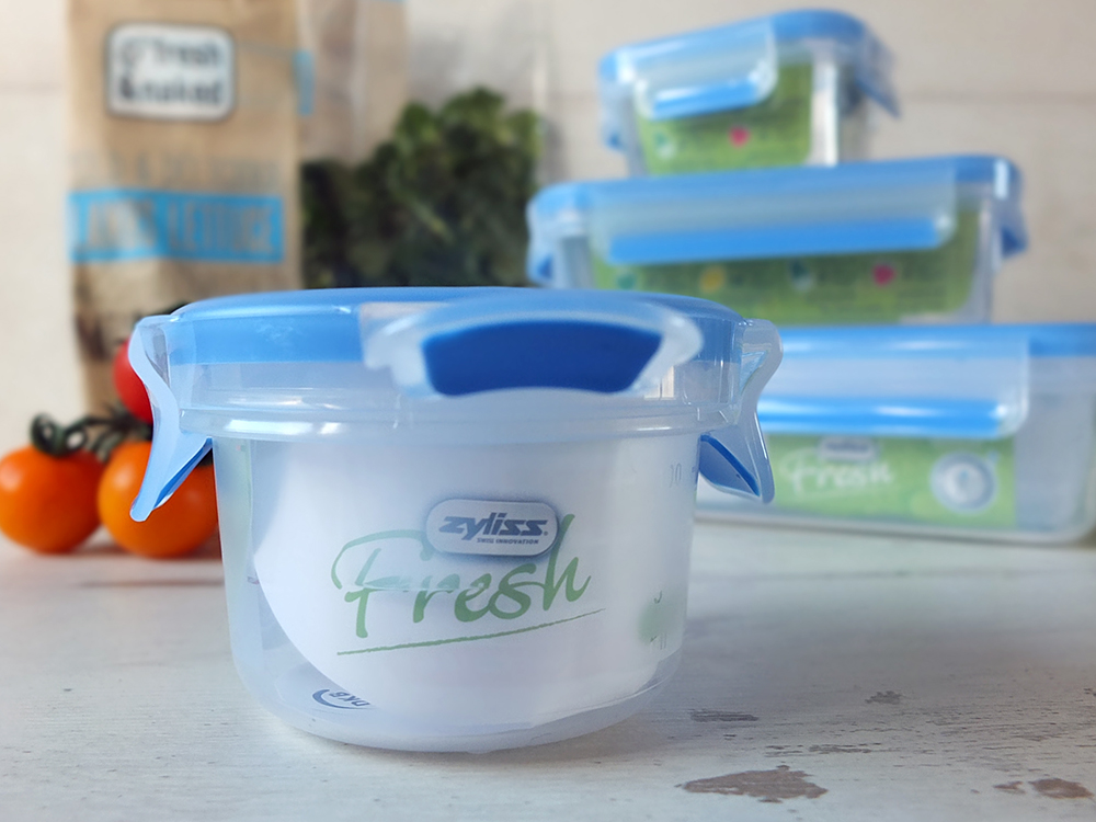 Zyliss Fresh Plastic Storage Containers