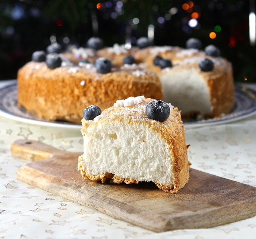 Gluten & Dairy Free Angel Cake by The Gluten Free Alchemist