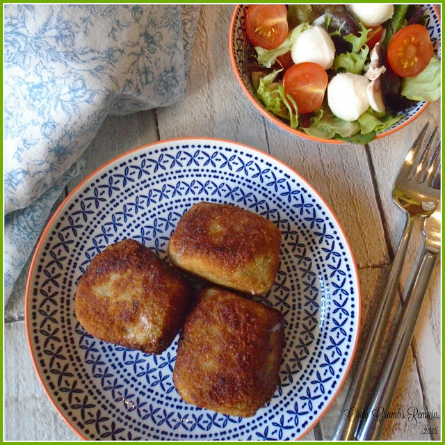 Risotto & Mozzarella Croquettes by Only Crumbs Remain