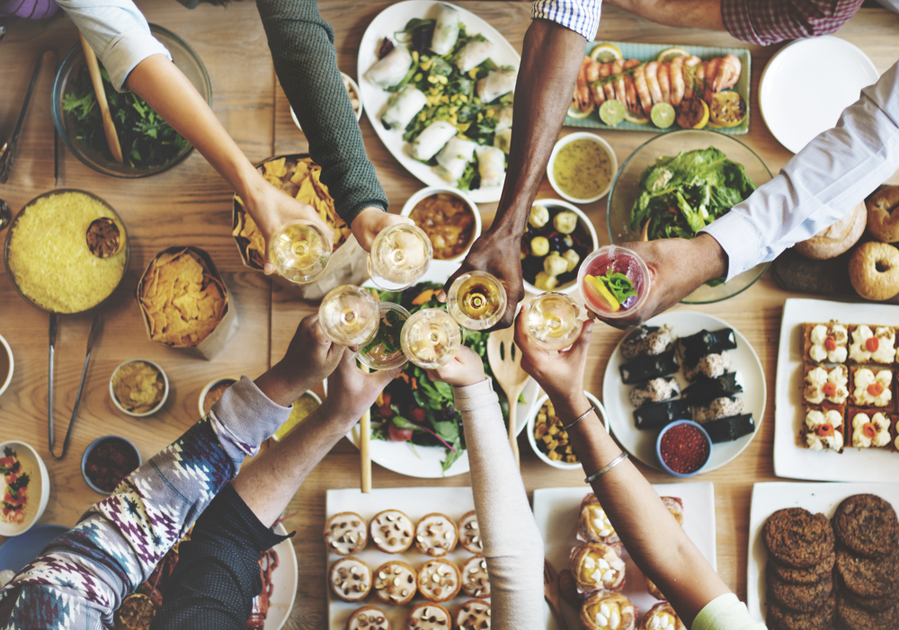 Dinner Party by RawPixel.com via Shutterstock