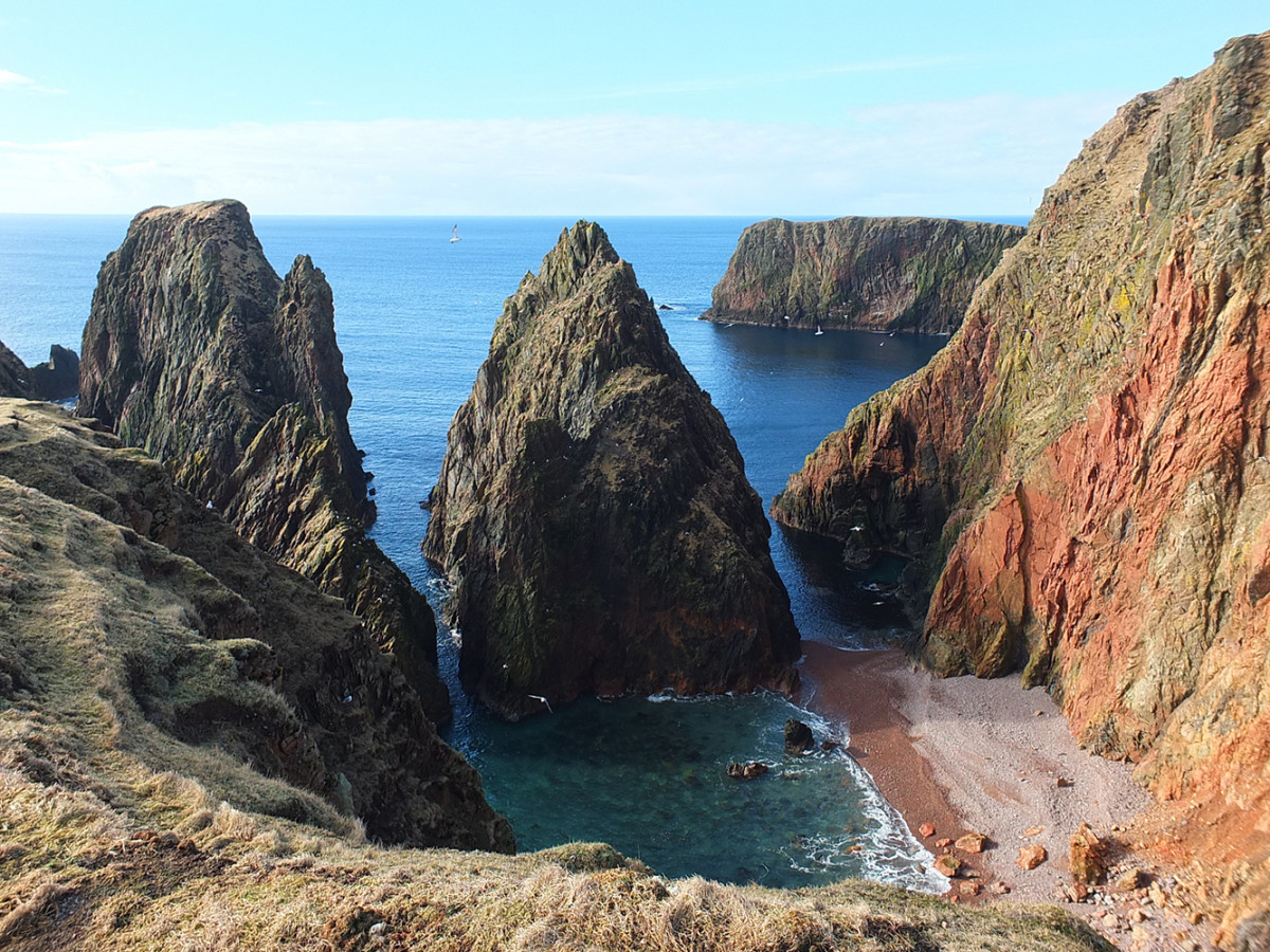 Ernes Stack, Shetland