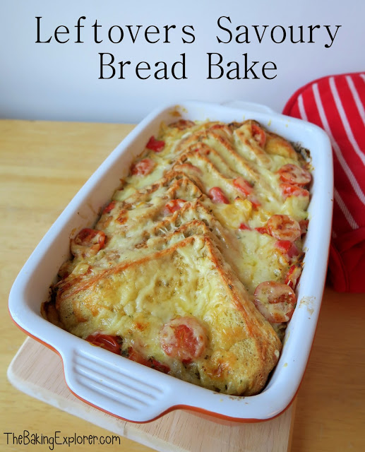 Leftovers Savoury Bake Bread by The Baking Explorer