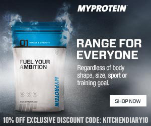 My Protein - Exclusive Discount Code from Elizabeth's Kitchen Diary