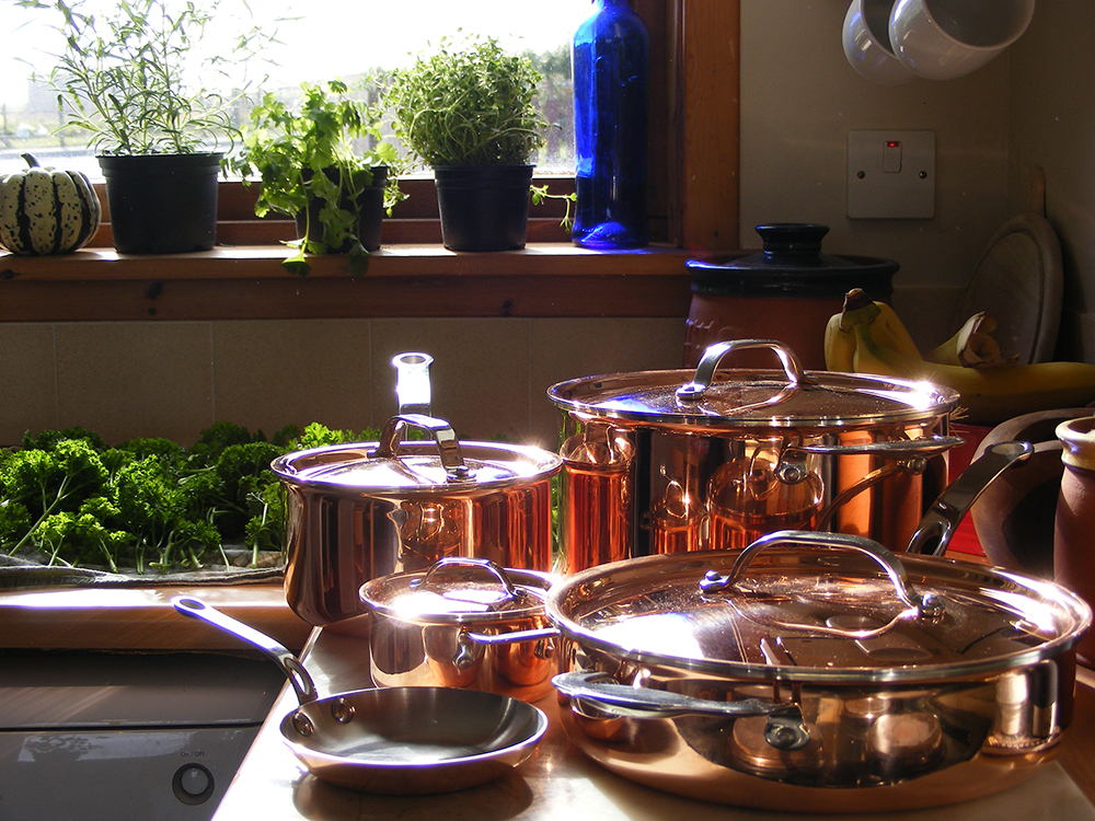ProWare Kitchen Copper TriPly Pots and Pans