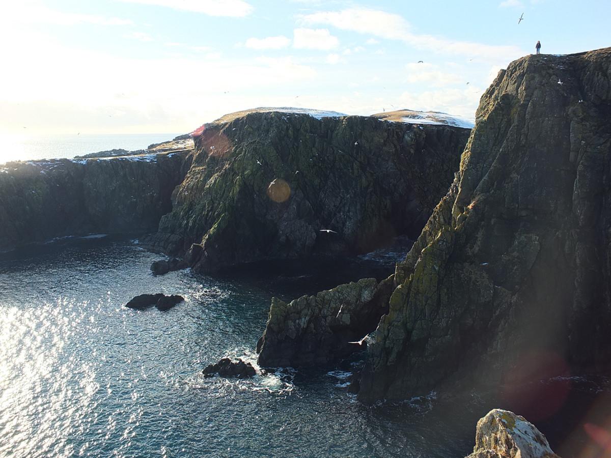 Quinni Geo, Shetland