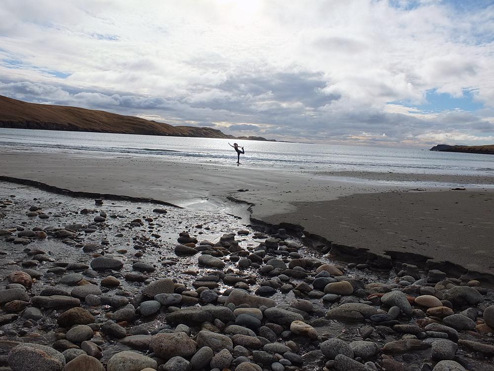 Sand Beach, Shetland