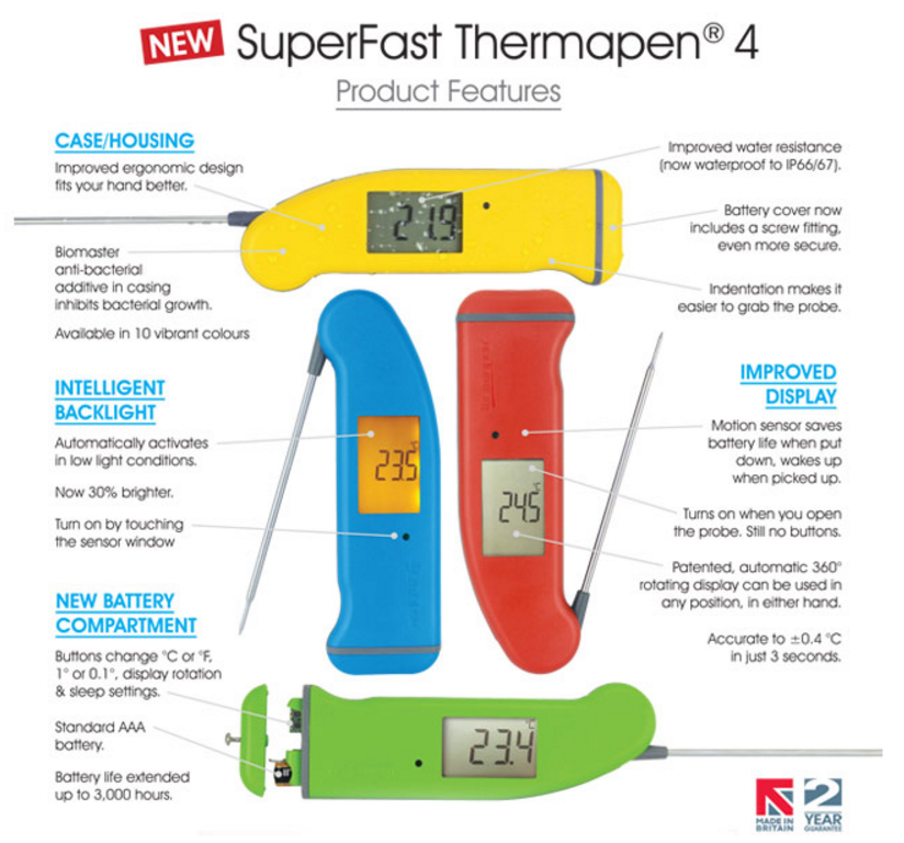 Thermapen Product Info