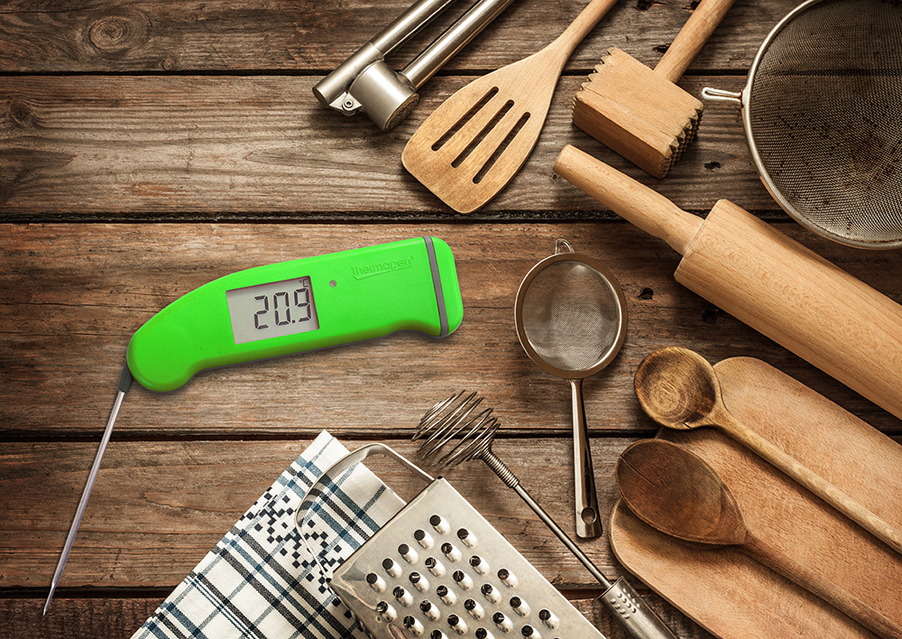 Thermapen4 & Utensils Green