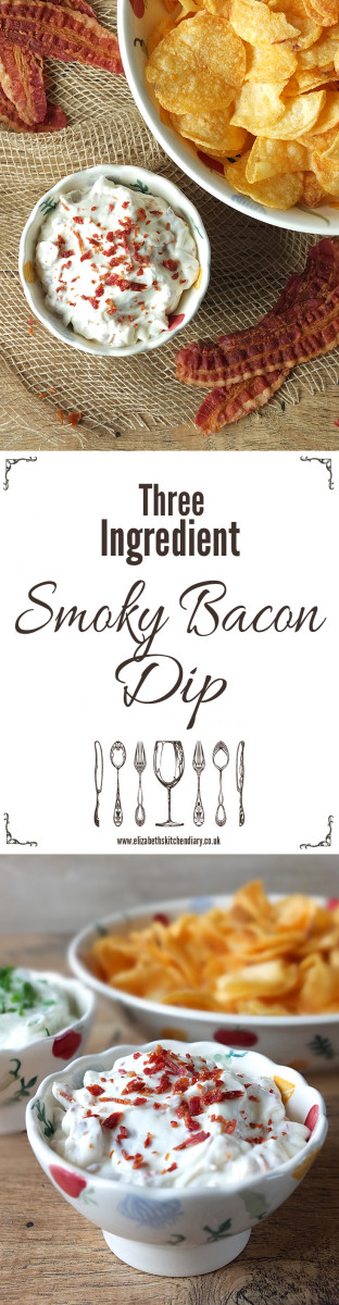 Three Ingredient Smoky Bacon Dip
