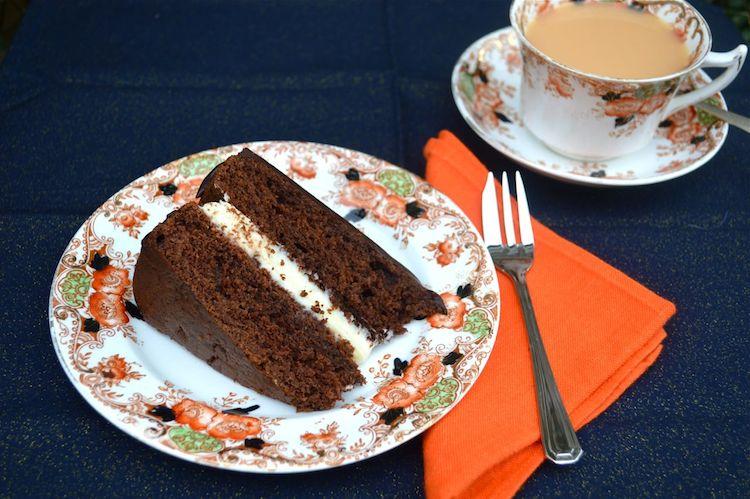Triple Chocolate Cake by Tin & Thyme