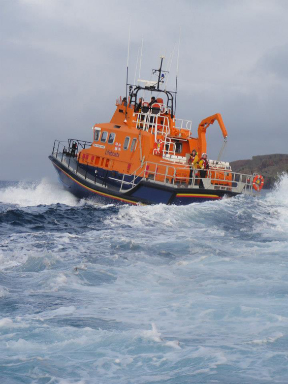 Aith RNLI lifeboat