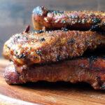 48 Hour BBQ Sous Vide Ribs