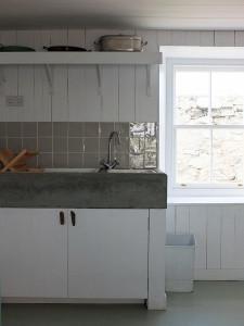 Burrastow Cottage Kitchen