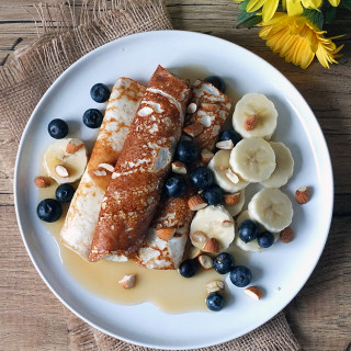 Cottage Cheese Crepes - High Protein and Low Fat