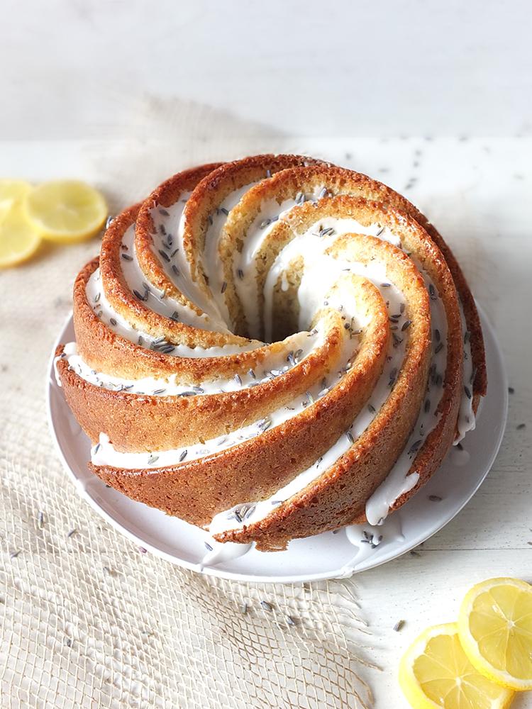 Lavender and Lemon Bundt Cake