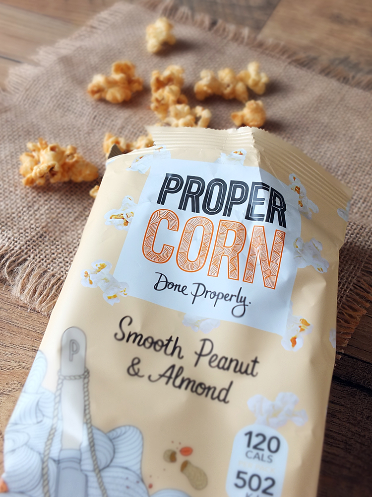 Propercorn - Smooth Peanut & Almond