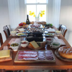 Deconstructed Pizza: A Raclette Party