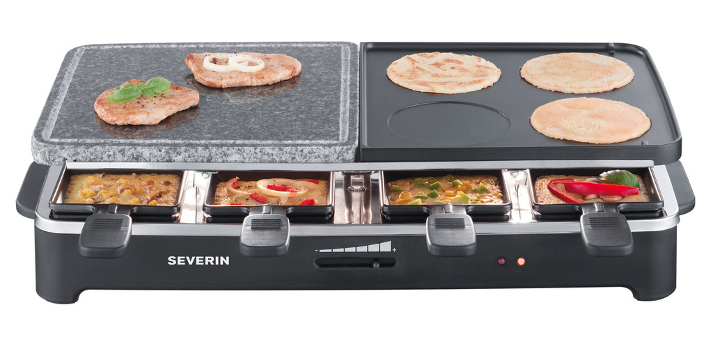 Severin Raclette Grill & Natural Stone