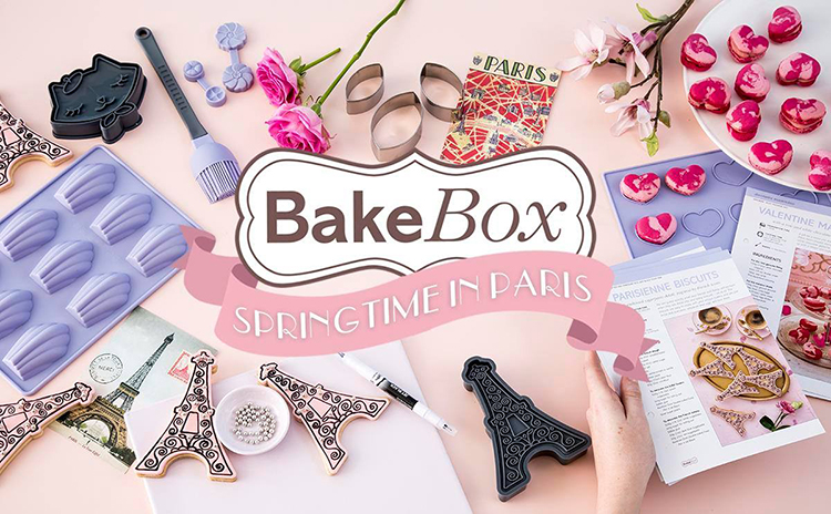 Springtime in Paris Bake Box