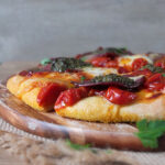 Wild Venison Pizza with Wild Garlic Pesto