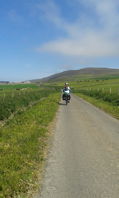 Cycling through Orkney