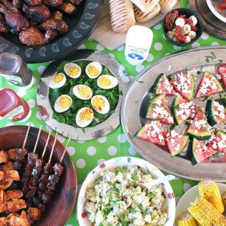 Barbecue Picnic Table