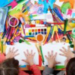 Kids Crafting (image via Shutterstock)