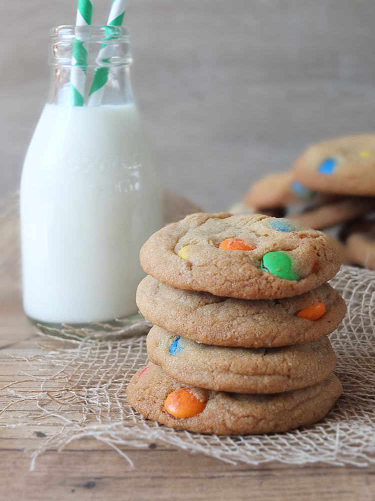 M&M Cookies - a delightful treat for the kids!
