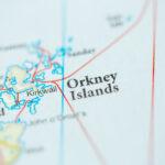 Orkney Islands map - image via Shutterstock