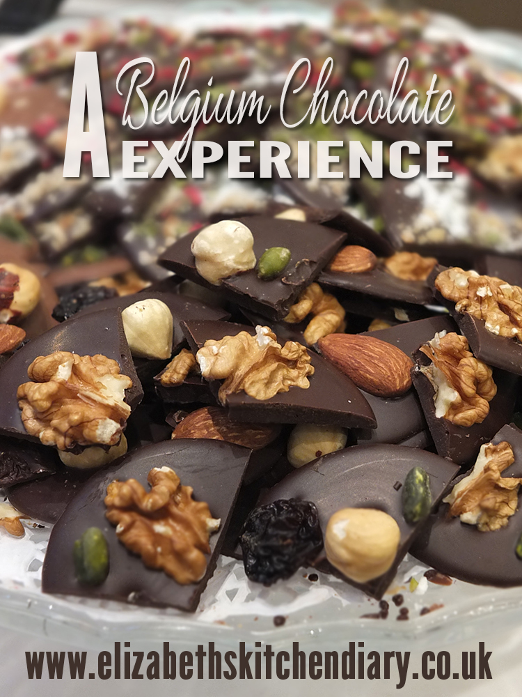 A Belgium Chocolate Experience from Elizabeth's Kitchen Diary