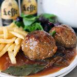 Boulets à la Liégeoise – a Classic Belgium Meatball Recipe