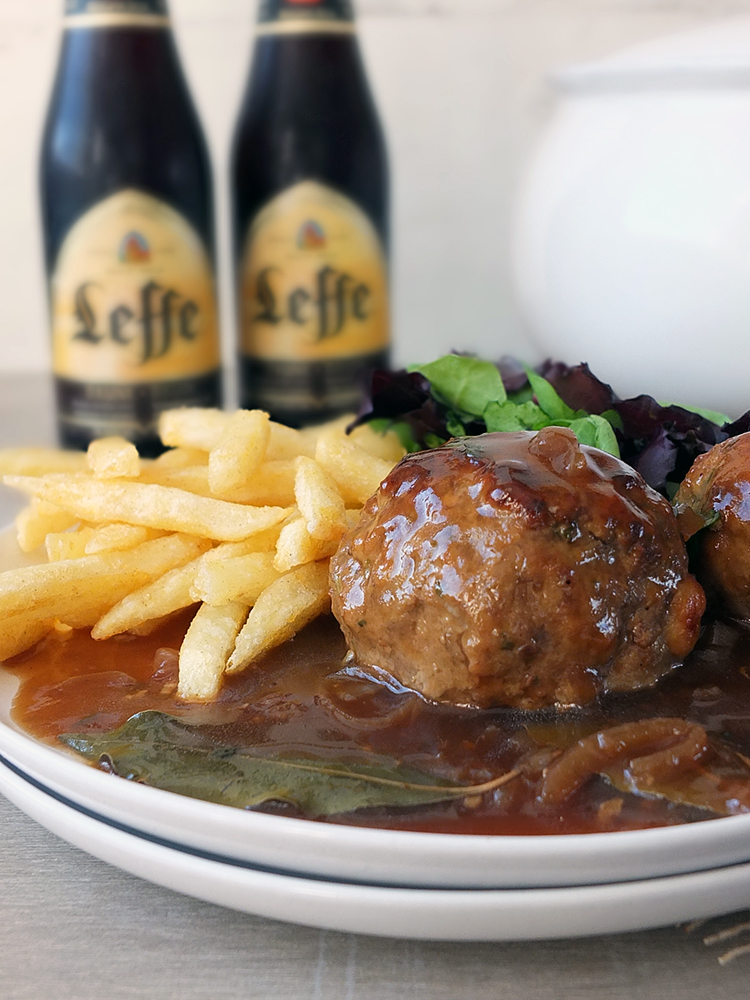 Boulets à la liégeoise - a Belgian classic meatball recipe