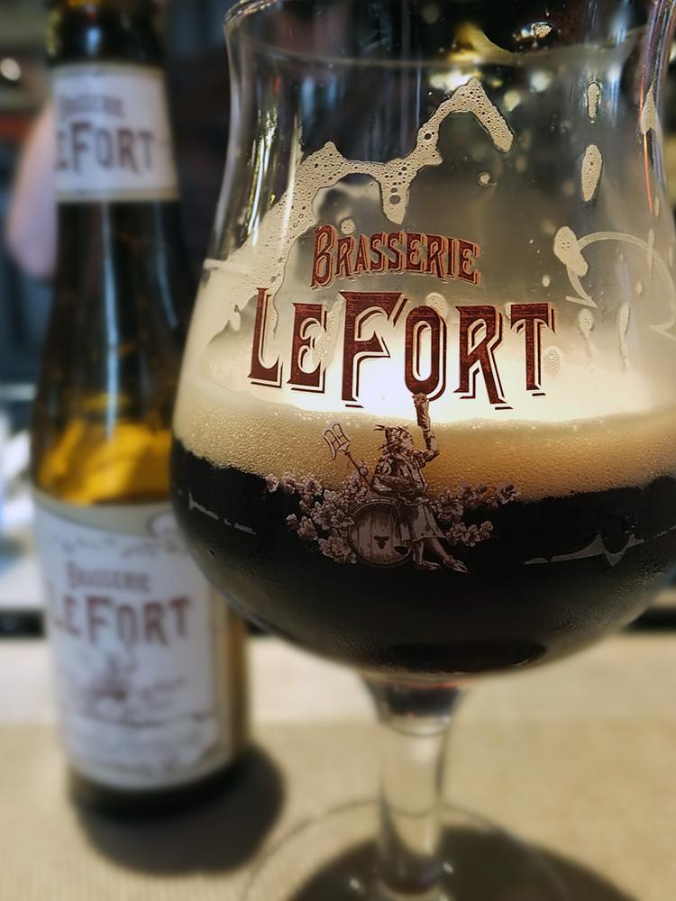 Brasserie Le Fort beer