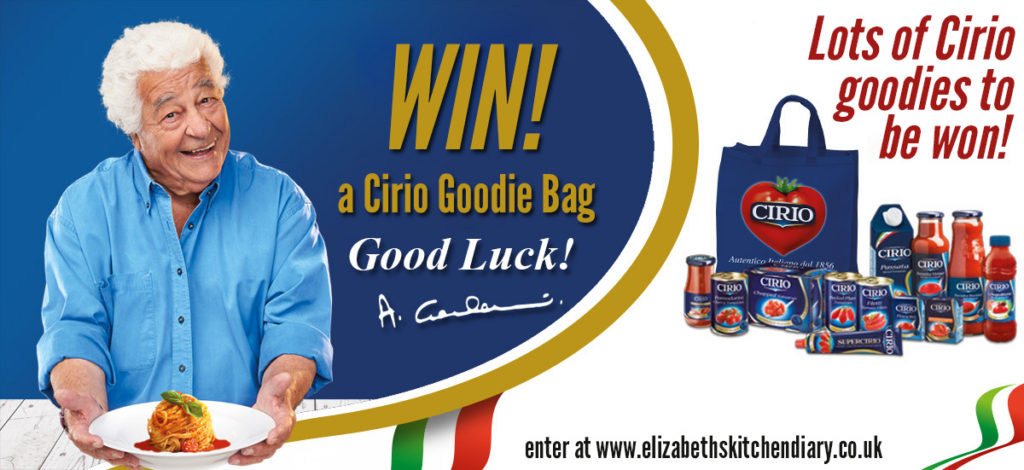 Cirio Giveaway - win a selection of Cirio goodies!