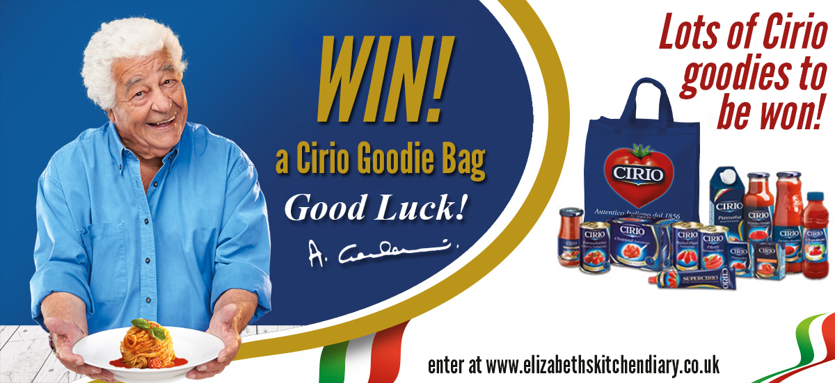 Cirio Giveaway - win a selection of Cirio goodies!