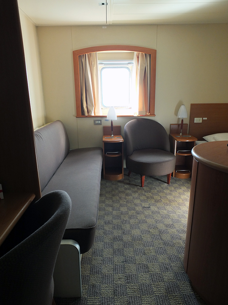 Club Class - Family Bunk P&O Ferries Pride of Hull
