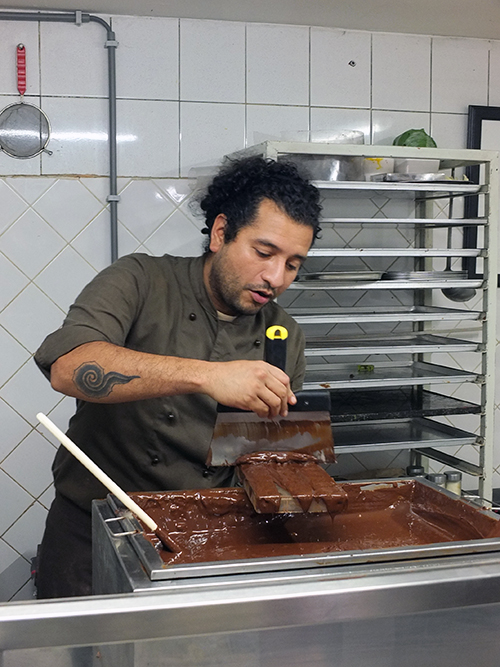 Museum of Cocoa and Chocolate Demonstration