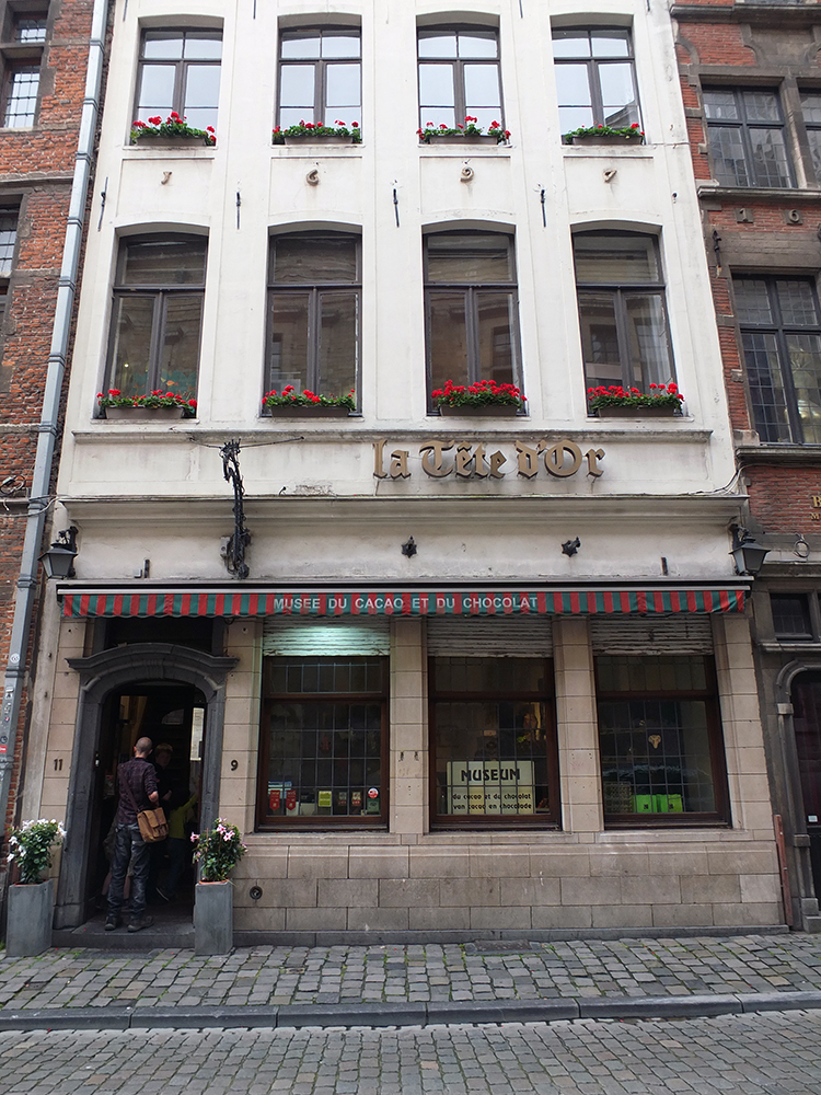 Museum of Cocoa and Chocolate, Brussels