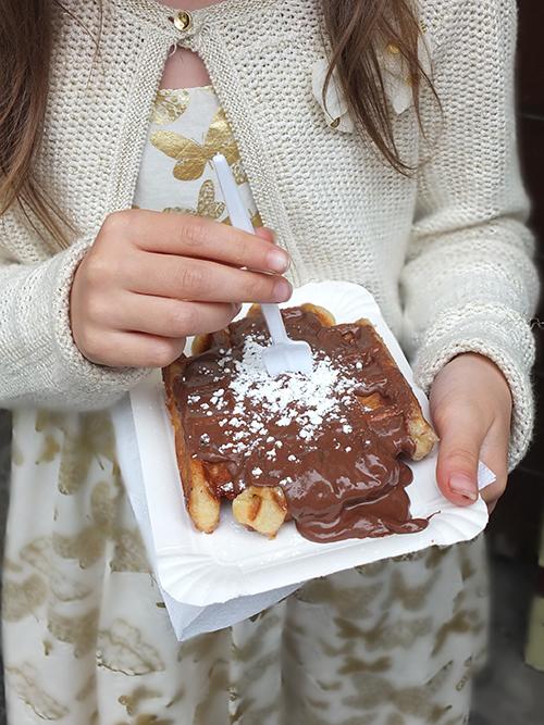 Nutella Belgium Waffle